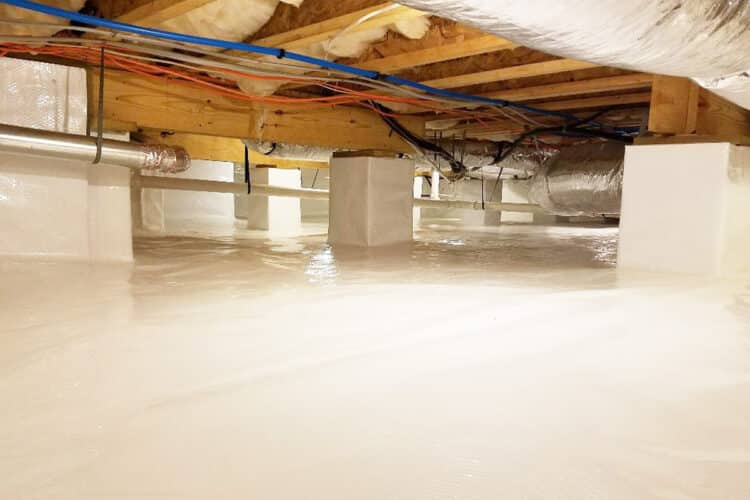 Crawlspace Waterproofing | Chester County, PA | Completely Dry Waterproofing