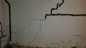 Bowing Basement Walls   Claymont, DE   Completely Dry Waterproofing